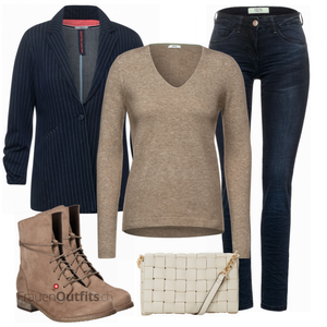 Perfektes Büro Outfit FrauenOutfits.ch
