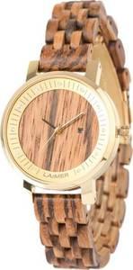 LAiMER Uhr ocker / gold