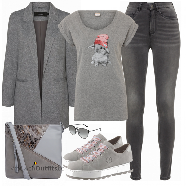 Cooles Alltagsoutfit VrouwenOutfits.be