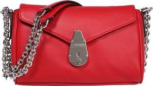 Calvin Klein Tasche rot / silber