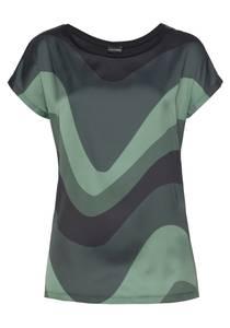 BRUNO BANANI Bluse dunkelgrün