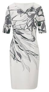 heine Kleid weiß / grau
