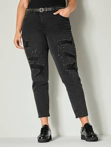 Jeans black stone Angel of Style