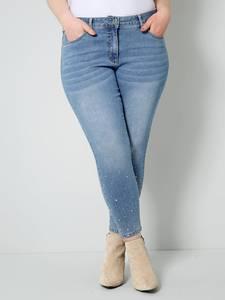 Jeans blue bleached Sara Lindholm