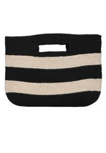 Crickit Strandtasche ''FIORA'' beige / schwarz