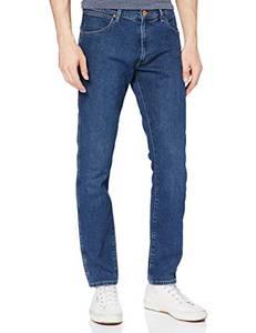 Wrangler Herren Larston Jeans, SOFTMATIC Blue, 32W / 32L