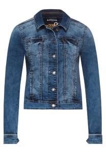 Street One Damen Indoor Jacke in Denim Style in Blau