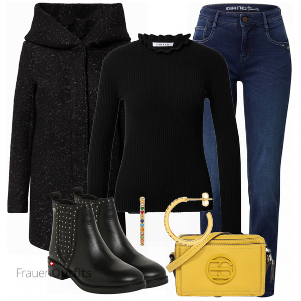 Trendiges Herbst Outfit FrauenOutfits.ch