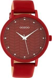 OOZOO Uhr rot