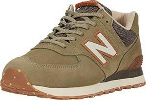 New Balance Herren 574v2 Sneaker, Grün (Green Soj), 42 EU