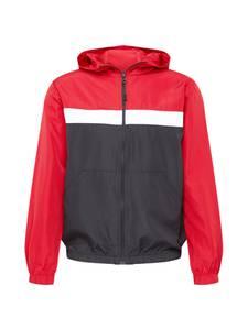 BRAVE SOUL Jacke rot / schwarz / weiß