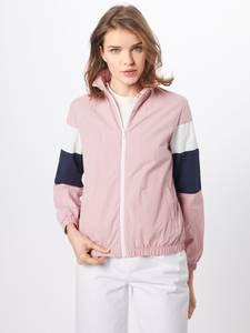 Urban Classics Jacke rosa / schwarz / weiß