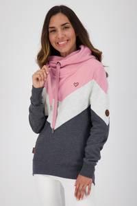 Alife and Kickin Sweatshirt ''Stella'' pastellpink / marine / hellgrau