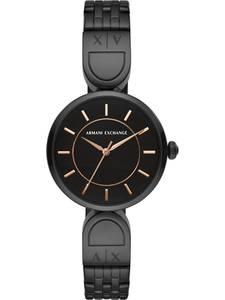 ARMANI EXCHANGE Uhr schwarz