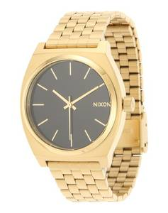 Nixon Armbanduhr ''Time Teller'' schwarz / gold