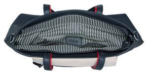 GABOR Handtasche marine / weiß / rot