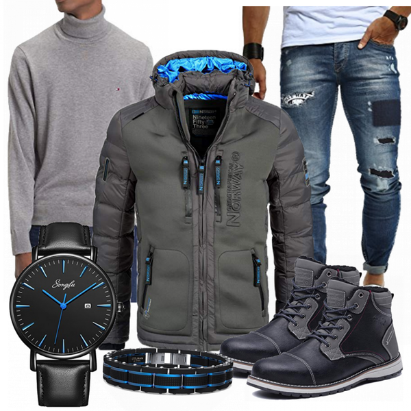 Maenner Outfit Winter MaennerOutfits.de