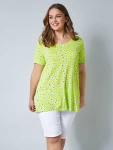 Shirt neongrün/weiß Janet & Joyce