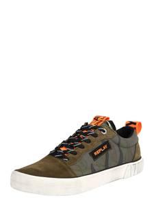 REPLAY Sneaker weiß / dunkelgrün