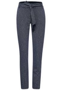 Casual fit broek in 30 inch - deep blue