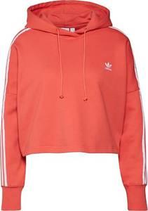 ADIDAS ORIGINALS Sweatshirt weiß / orangerot