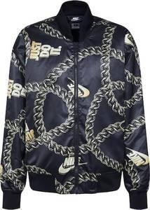 Nike Sportswear Jacke schwarz / goldgelb