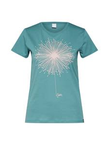 Iriedaily T-Shirt ''Blowball'' grün / weiß