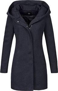 ONLY Damen Onlsedona Light Coat Otw Noos Mantel, Night Sky, M EU