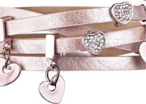 Wickelarmband in rosa für Damen von bonprix