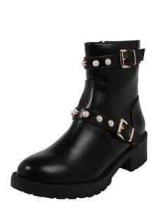 Bianco Boots gold / schwarz