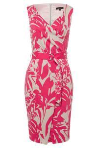 MORE & MORE Kleid pink / naturweiß