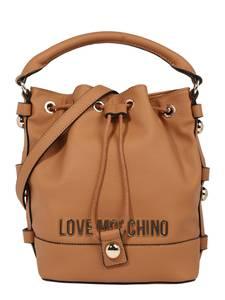 Love Moschino Beuteltasche camel