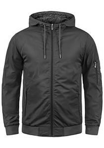Blend Razy Herren Übergangsjacke Herrenjacke Jacke mit Kapuze, Größe:M, Farbe:Phantom Grey (70010)