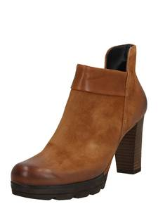 Paul Green Ankleboots cognac