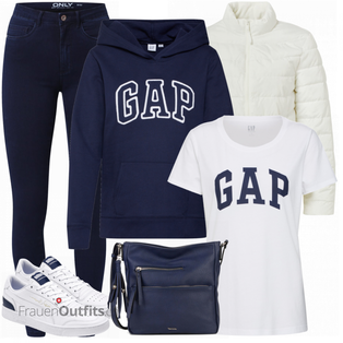 Sportliches Winter Outfit FrauenOutfits.ch
