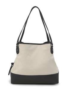 TOM TAILOR Shopper ''Ines'' beige / schwarz