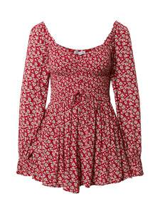 HOLLISTER Jumpsuit rot / weiß / grau / rosa