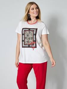 Shirt off-white/schwarz Sara Lindholm