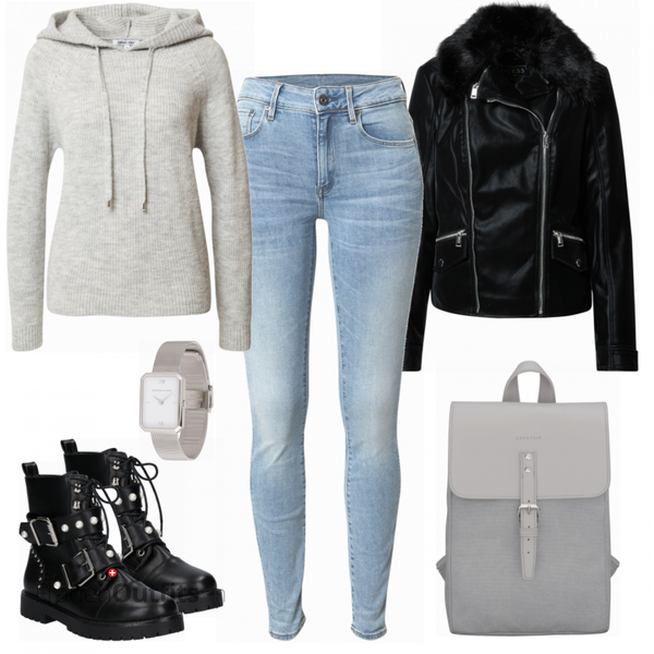 Silver Alltagsoutfit FrauenOutfits.ch