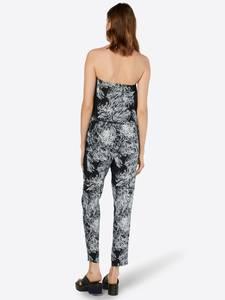 Urban Classics Jumpsuit schwarz / weiß