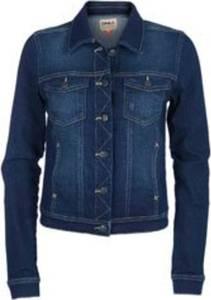 ONLY Damen Jeansjacke Übergangsjacke Leichte Jacke (M, Dunkelblau)