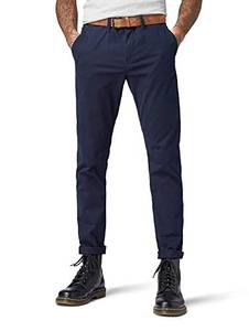 Tom Tailor Denim Herren Chino Hose Basic Slim Chino Hose, Blau (Sky Captain Blue 10668), W32/L32