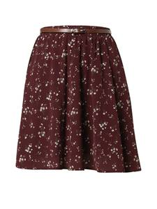 ABOUT YOU Rock ''Ginny'' beige / bordeaux