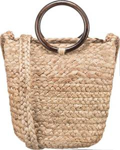 PIECES Handtasche beige
