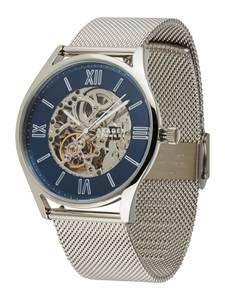SKAGEN Uhr silber / blau