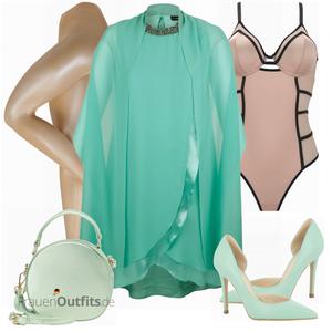 Abend Outfit für Mollige FrauenOutfits.de