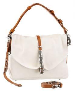 A.S.98 Handtasche ''A.S.98 '' weiß / braun