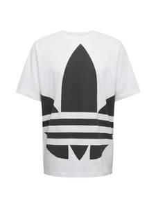 ADIDAS ORIGINALS Shirt ''BG TREFOIL'' weiß / schwarz
