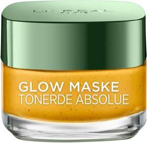 LOréal Paris Gesichtsmaske Tonerde Absolue Glow gelb / grün