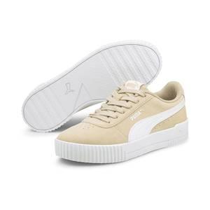 PUMA Sneaker ''Carina'' weiß / hellbeige